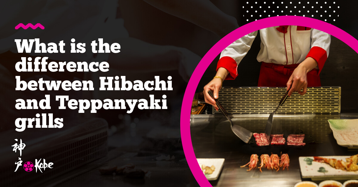 What is the difference between Hibachi and Teppanyaki grills?